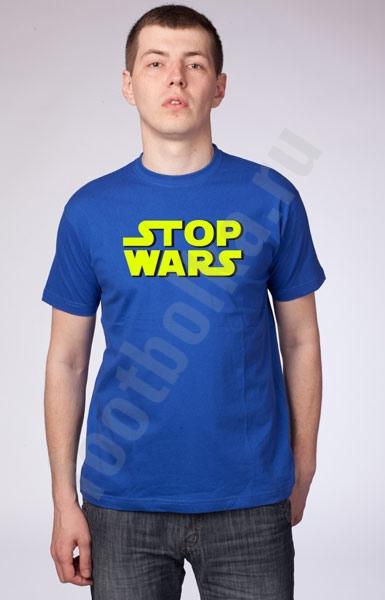 "Футболка ""Stop Wars""  фото 0"