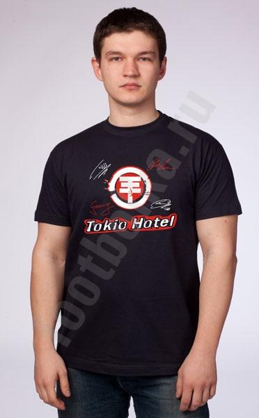 """Футболка  """"Tokio Hotel"""" фото 0"""