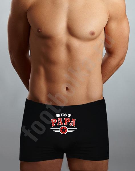"Трусы ""Best PAPA"" фото 0"