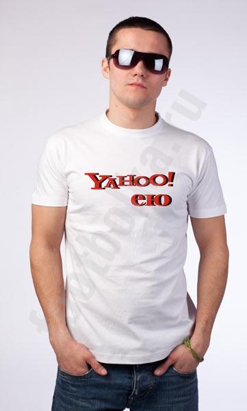 """Футболка """"Yahoo! ею"""" фото 0"""