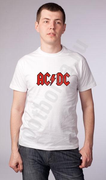 """Футболка """"AC DC"""" фото 0"""
