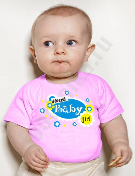 "Футболка детская ""Sweet baby girl"" фото 0"