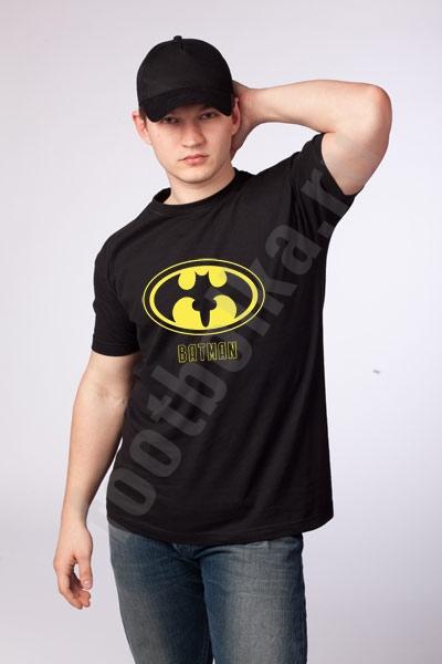 "Футболка  ""Batman"" /надпись/  фото 0"