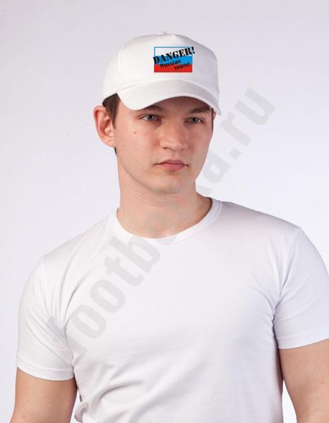 """Бейсболка """"Russian tourist"""" фото 0"""