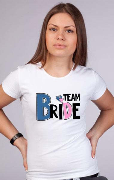 Футболка Team bride - 2 фото 0