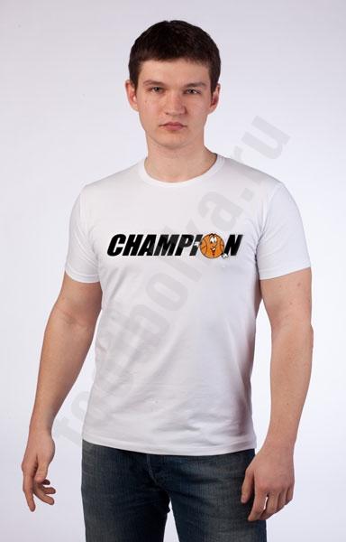 "Футболка ""Champion""  фото 0"