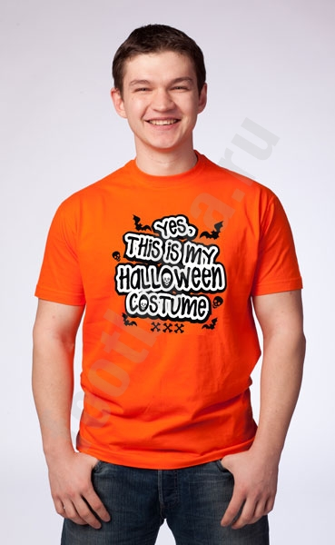 "Футболка halloween ""This is my Halloween costume"" фото 0"