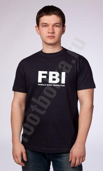 """Футболка """"FBI""""  фото 0"""