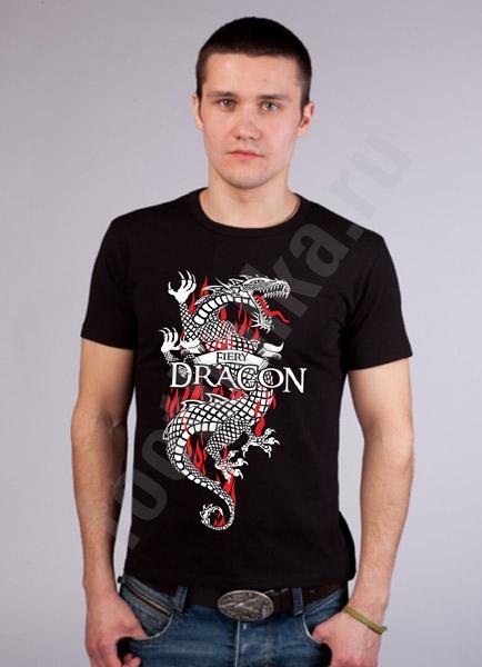 "Футболка FREEdom ""Fiery Dragon"" фото 0"