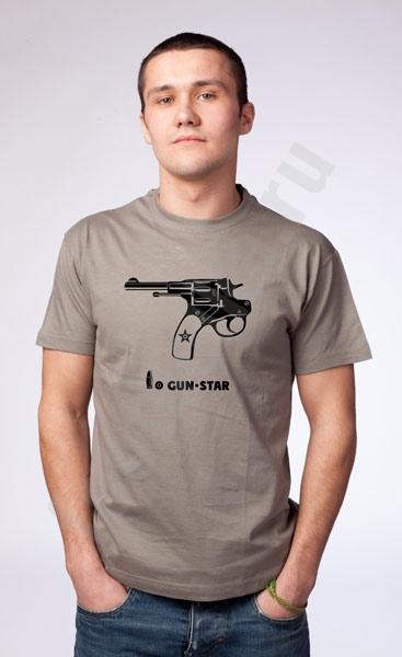 """Футболка """"Gun-star"""" фото 0"""