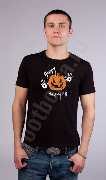 """Футболка halloween """"Happy Halloween"""" фото 0"""