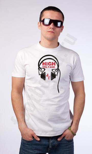 """Футболка  """"High voltage"""" фото 0"""