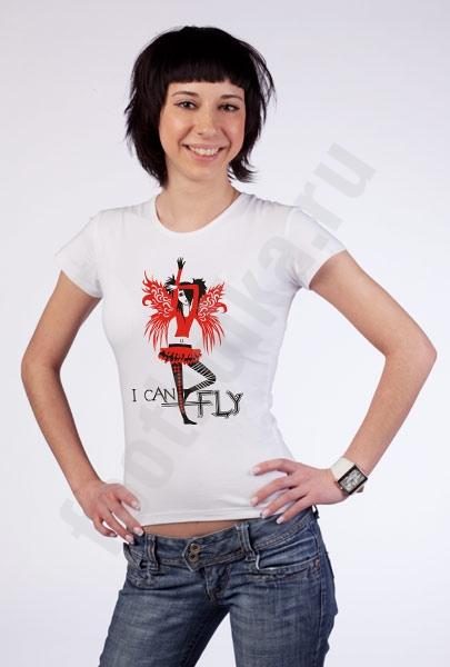 """Футболка  """"I CAN FLY"""" фото 0"""