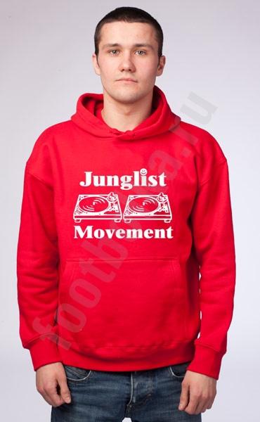 "Толстовка-кенгурушка ""Junglist Movement"" фото 0"