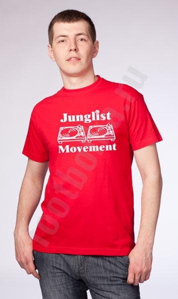 """Футболка """"Junglist Movement"""" фото 0"""