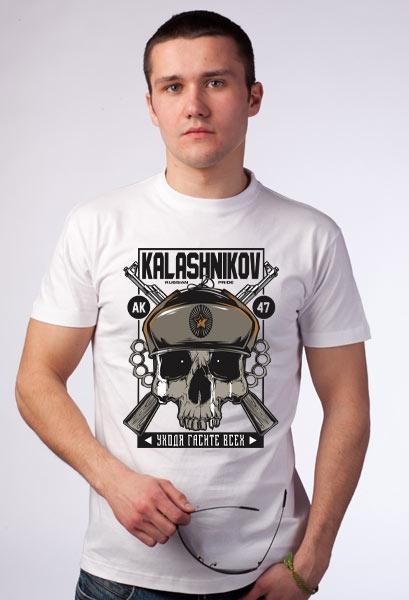 "Футболка ""Kalashnikov"" фото 0"