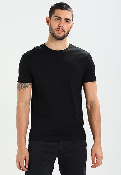 42ca65f438cde Мужская черная футболка - Футболка.ру