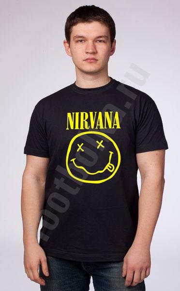 "Футболка ""Nirvana"" фото 0"