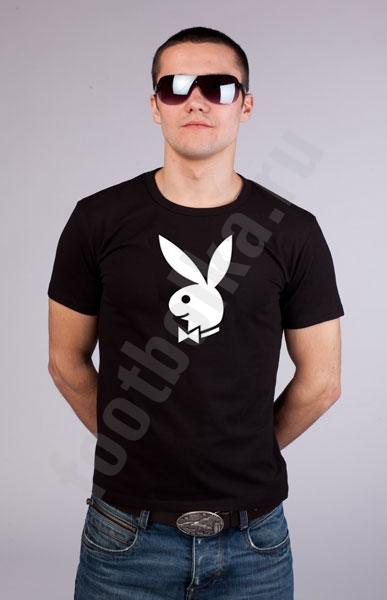 "Футболка ""Playboy"" фото 0"
