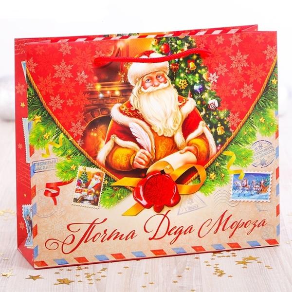 Пакет подарочный «Почта Деда Мороза» фото 0