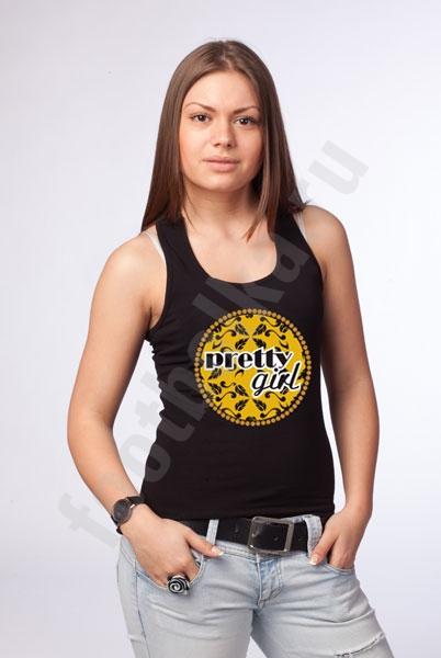 """Майка-боксерка """"Pretty Girl"""" фото 0"""