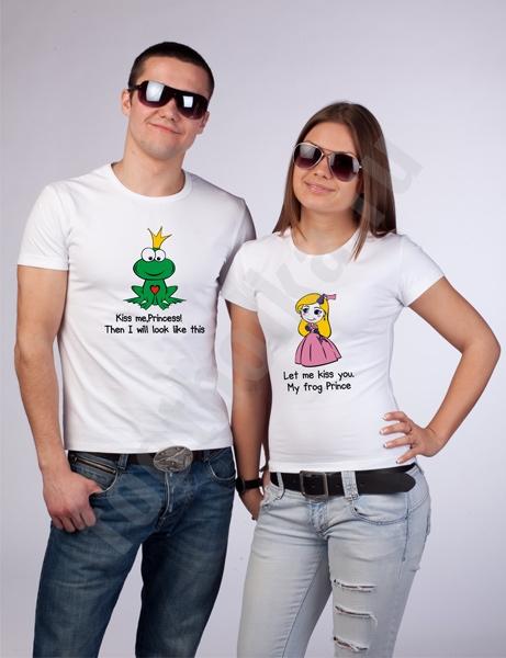 Футболки парные Frog and Princess фото 0