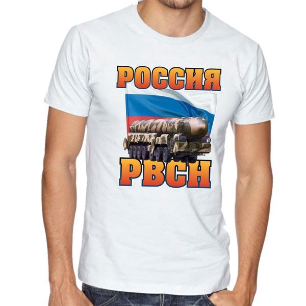 """Футболка """"Россия. РВСН"""" фото 0"""