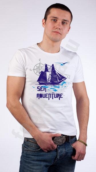"""Футболка FREEdom """"Sea Adventure"""" фото 0"""