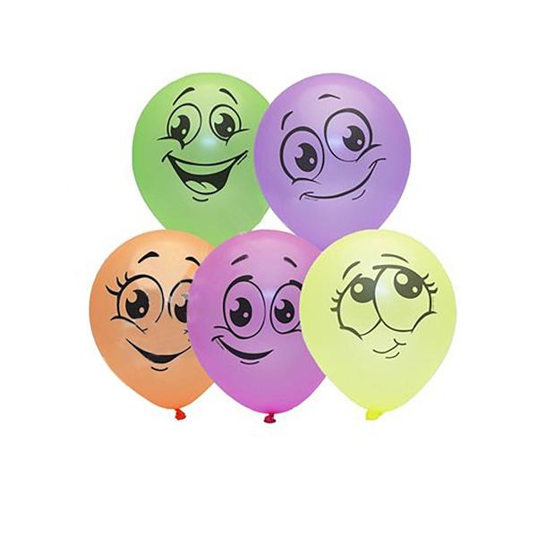 """Набор воздушных шаров """"Смайлики"""" фото 0"""