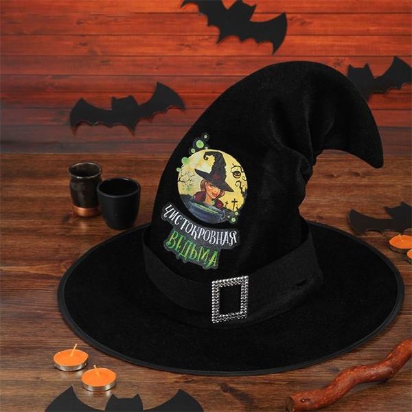"""Шляпа ведьмы """"Чистокровная ведьма"""" фото 0"""