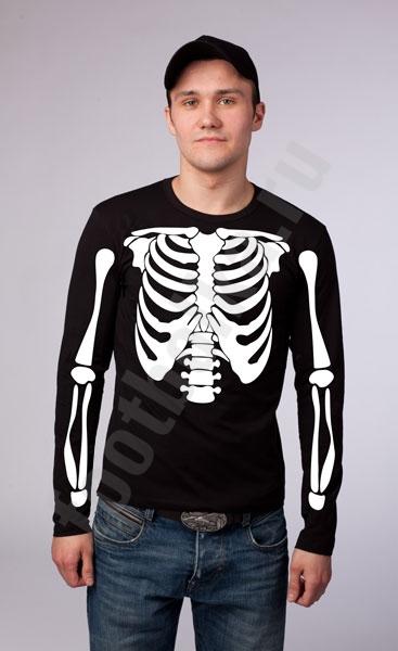 "Футболка halloween ""Скелет"" фото 0"