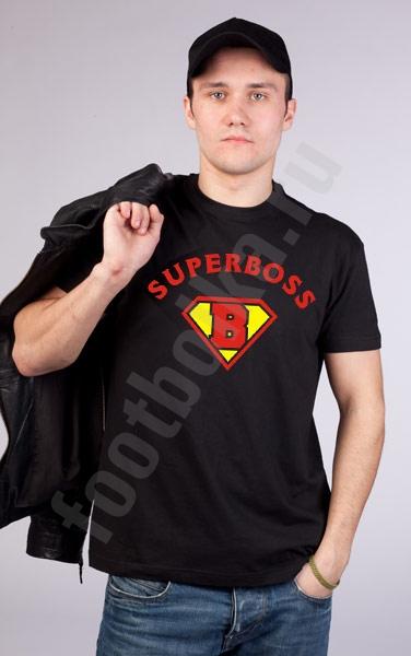 """Футболка """"SUPER BOSS"""" фото 0"""
