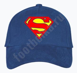 """Бейсболка """"Superman"""" фото 0"""