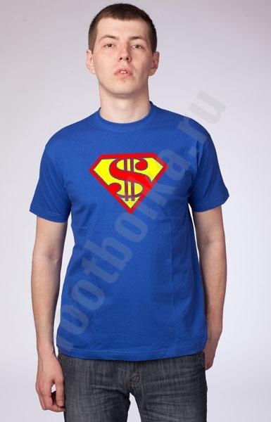 """Футболка """"Супермен"""" доллар фото 0"""