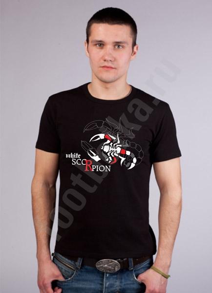 """Футболка FREEdom """"White Scorpion"""" фото 0"""
