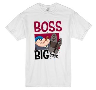 "Футболка ""Boss. Big boss"""