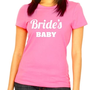 "Футболка розовая ""Brides Baby"""