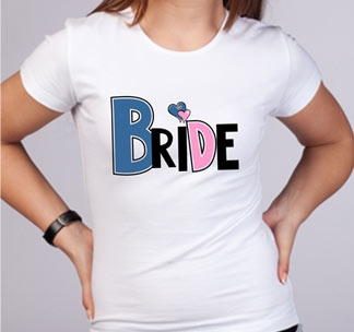 """Футболка """"Bride - 2"""""""