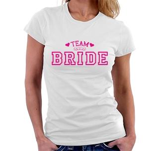 """Футболка """"Team Bride"""""""