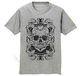 """Футболка мужская """"Melange skull"""""""