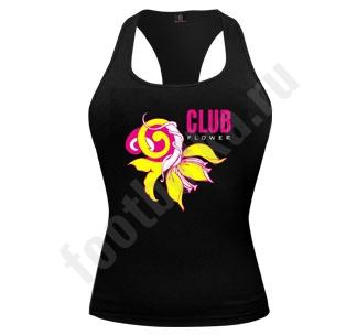 """Майка женская """"Club flower"""""""