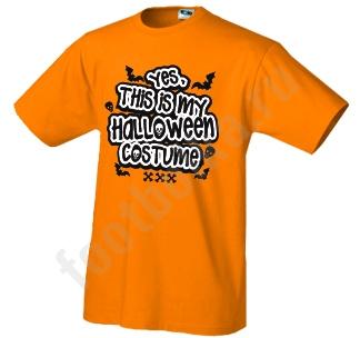 """Футболка halloween """"This is my Halloween costume"""""""