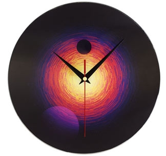 Часы настенные стеклянные «Свет далекой звезды» арт.7664.37