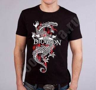 "Футболка FREEdom ""Fiery Dragon"""