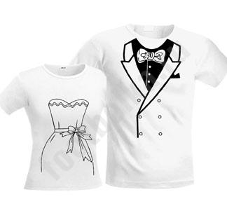"""мужская футболка """"Свадебные"""" белые SALE"""