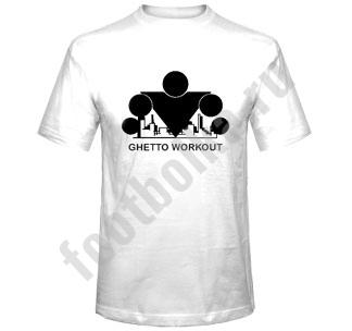 "Футболка ""Ghetto workout"""