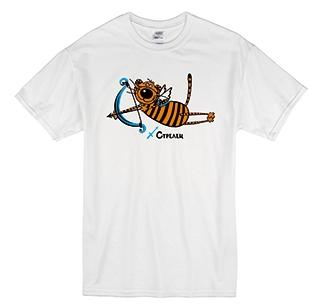 """Футболка знак зодиака """"Стрелец"""" тигр"""