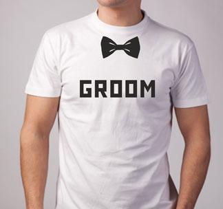 """Футболка """"Groom"""""""