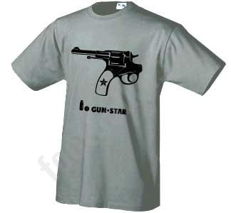 "Футболка ""Gun-star"""