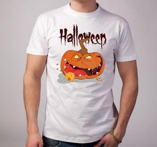 "Футболка halloween ""Тыква"" зубастик"